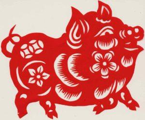 2019 Chinesisches Horoskop - Jahr Schwein