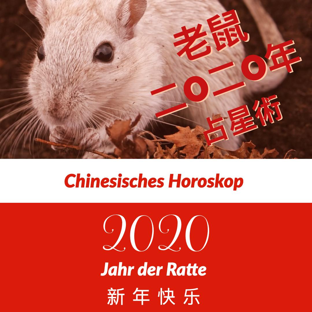 2020 Chinesisches Horoskop