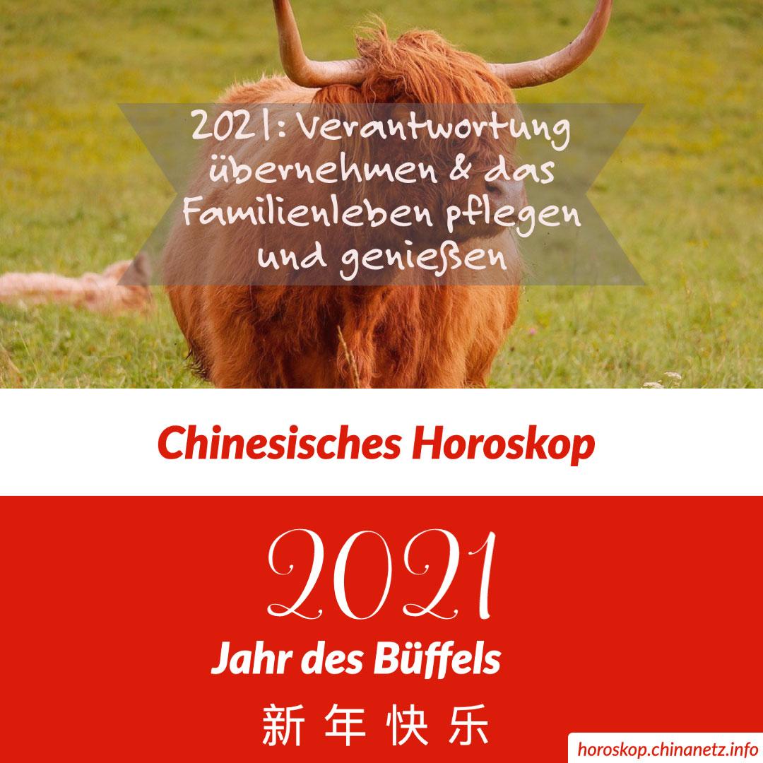 2021 Chinesisches Horoskop